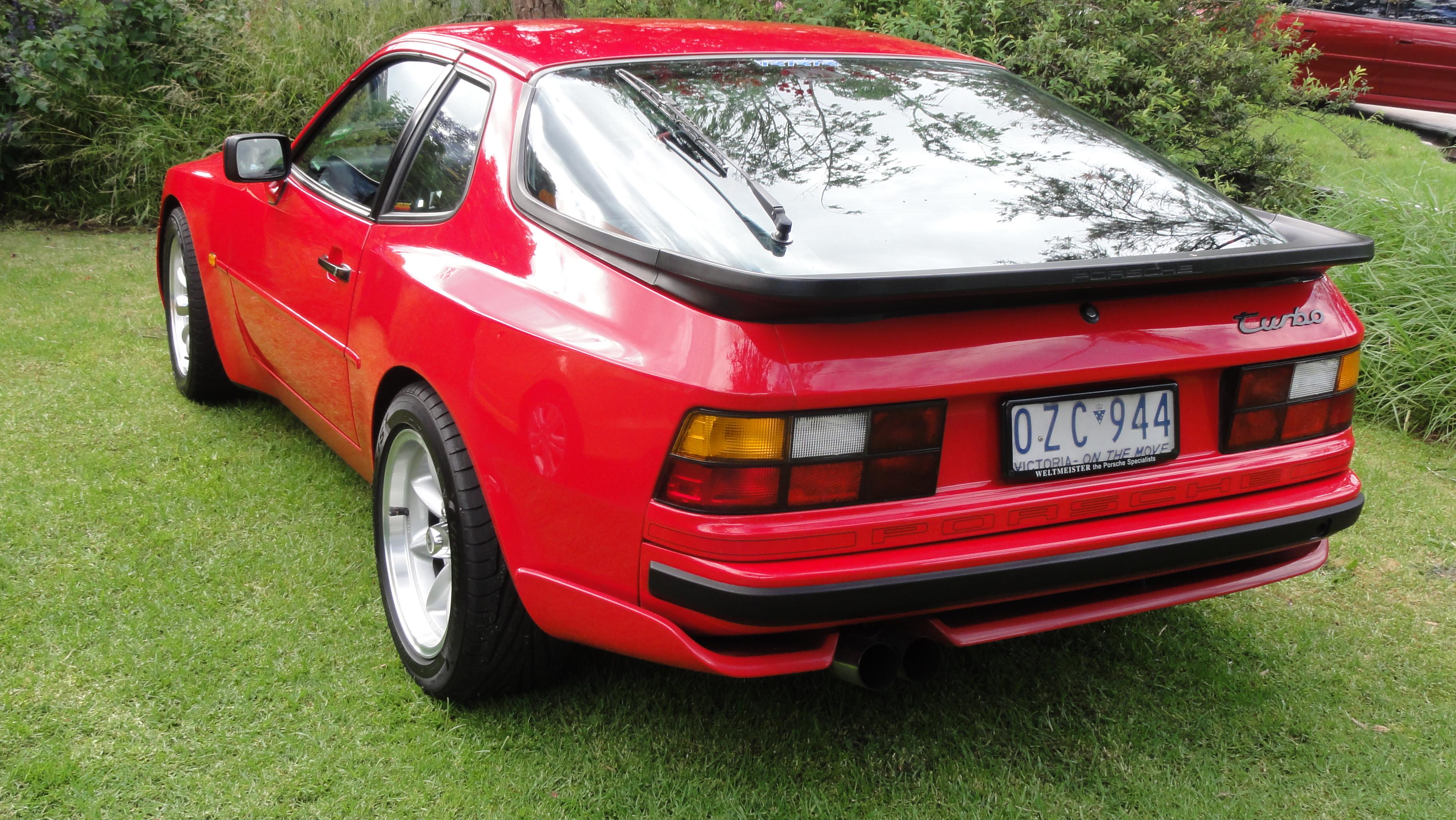 1986 Porsche 944 Turbo Kewlhunter Com